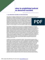 Apuntes sobre la exigibilidad judicial de los derechos sociales 2