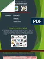 Tecnología y Aplicaciones Educativas