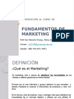Fundamentos de Marketing 1A