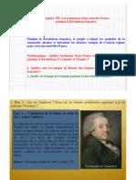 4H6.1. Les Fondations d'Une Nouvelle France Pendant La Révolution Française