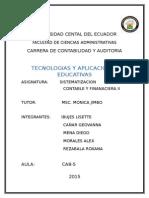 Tegnología Educativa Final