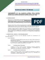2.0.- Especificaciones Tecnicas.