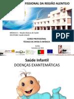 Saúde Infantil m 1 - Doenças Exantemáticas