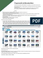 Diagnóstico y Programación de Mercedes-Benz