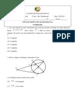 1ª Lista de Exercícios de Matemática_3º Bimestre