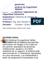 Sem.7 Sistemas Nosa, Dupont, Dnv, Istec, Otros