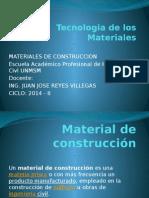 Clase 1 Materiales de Construccion
