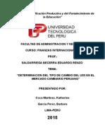 Determinancion del tipo de cambio del U$$ en el mercado cambiario peruano.docx