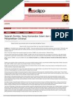 Sejarah Zombie, Sang Komandan Islam Dan Upaya Barat Menjelek