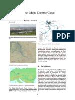 WRhine–Main–Danube Canal