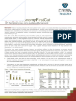 Economy First Cut IIP Sep 2013