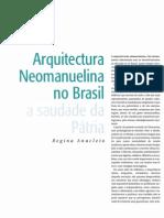 Apostila Arquitetura - Arquitetura Neomanuelina No Brasil