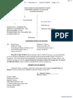 Vulcan Golf, LLC v. Google Inc. et al - Document No. 17