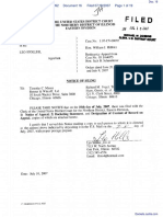 Leo Stoller vs. Google Inc - Document No. 16