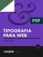 Tipografia Para Web