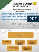 Diapositivas metodología