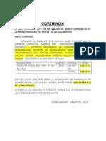 Constancia Dimersa