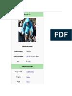 Fabio Aru ciclista profesional;