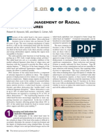 Surgical Management of Radial Head Fractures