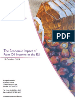 Europe Economics - Economic Impact of Palm Oil Imports