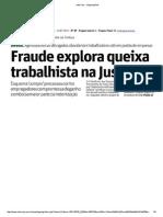 Fraude Trabalhista