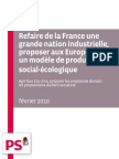 PS - Propositions industrie