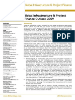 Global Infrastructure & Project Finance Outlook 2009