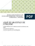 Modelo Bibliográfico APA