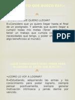 Plan de Vida Completo (PRESENTACION DE POWER POINT) ITA