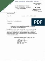 Jones v. Wackenhut % Google Inc. - Document No. 38