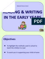 Teaching of Reading and Writing