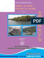 Abstarcts- Estuaries-Past, Present & Future 2015
