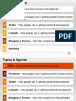 Social Media Presentation - Topic 3