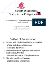 Persons With Disabilities by Edgardo Garcia