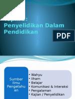 Tajuk 1a - Pengenalan Penyelidikan dalam Pendidikan.pptx