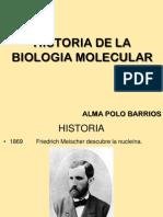 Historia Biologia Molecular
