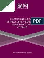 Constitucion Politica de Michoacan