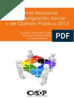 Premio Nacional de Investigacion 2013