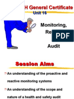 Unit 16 - Monitoring, Review and Audit by Allan Watson