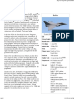 Dassault Rafale - Wikipedia, The Free Encyclopedia