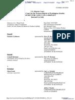 JOHNSON et al v. MENU FOODS - Document No. 2