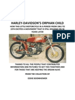 Harley-davidson's Orphan Child