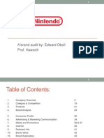 brand audit for nintendo