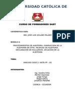 Curso de Formadores Sart Modulo 4
