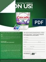 Cascade Platinum Rebate Form
