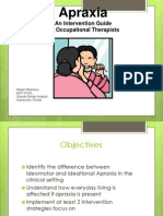 Apraxia Treatment