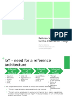 Reference Architecture for IoT