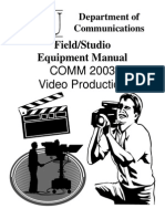 Broadcast Manual (TV)-Video Production