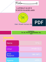 Laporan Kasus Sinusitis Maxilaris