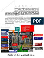 Parts and Functions of Motherboard